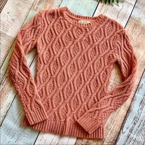 Cable-Knit Sweater from Kaisely